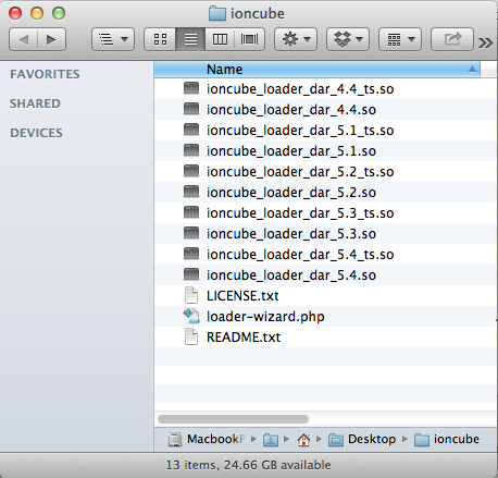 Unpacked ionCube Loader File